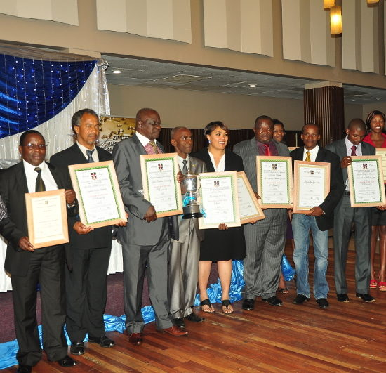 Zimbabwe Institute of Management Awards 2012