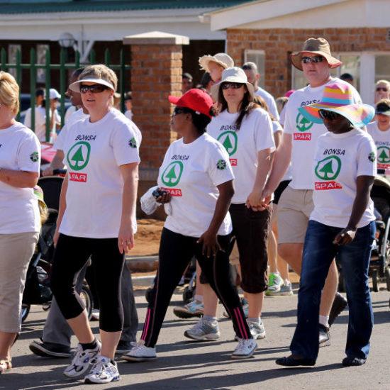 Cancer Fun Walk 2013