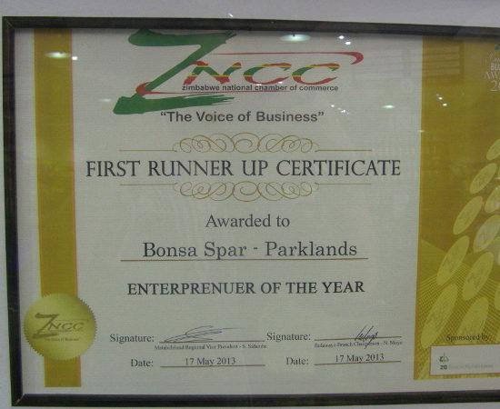 ZNCC Awards 2012